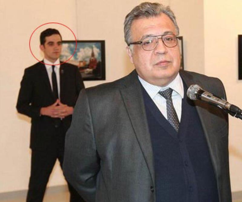 Büyükelçi Karlov'u öldüren Altıntaş'ın yeni görüntüleri ortaya çıktı