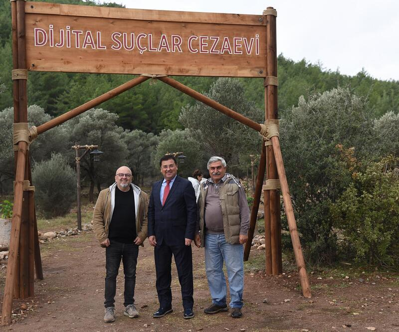 Başkan Tokat 'Dijital Esaret' filminin setini ziyaret etti