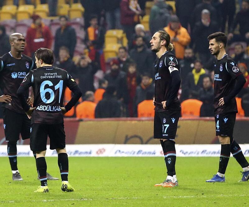 Trabzonspor taraftarı takımının yanında durdu