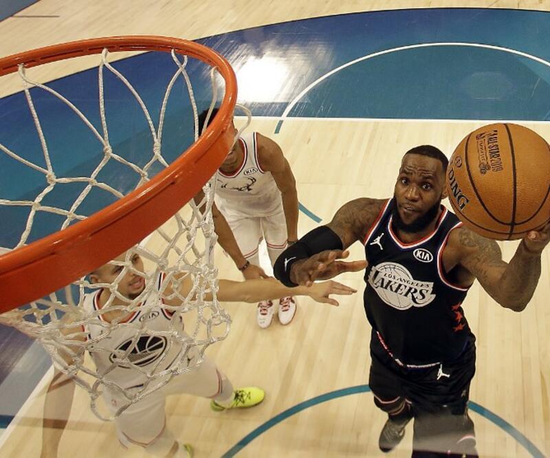 NBA All-Star maçını LeBron James'in takımı kazandı