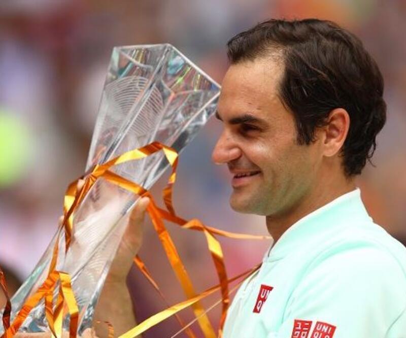 Miami Açık'da şampiyon Roger Federer