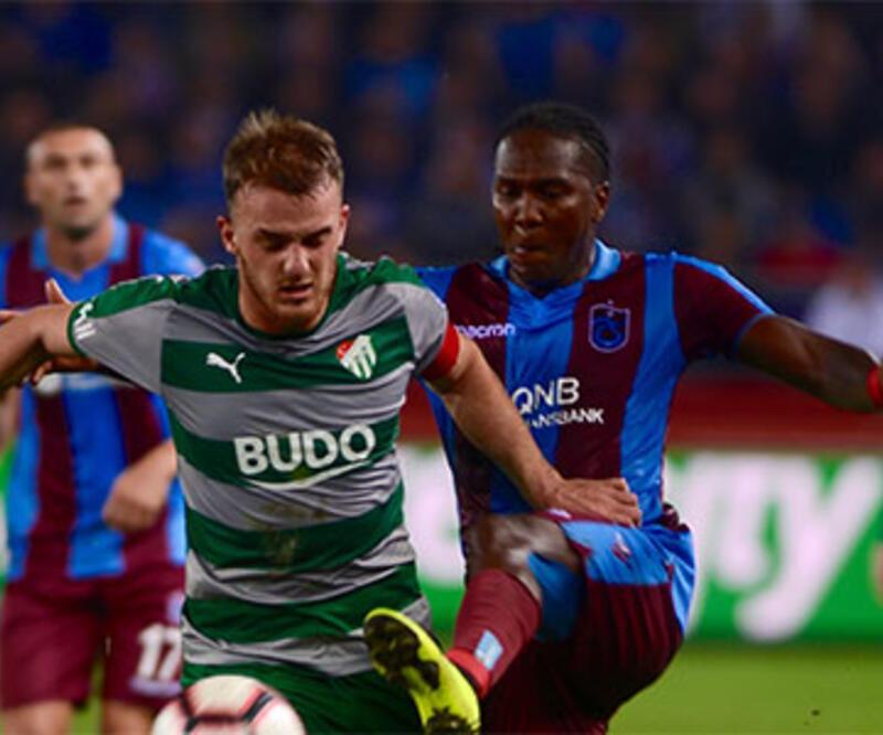 Bursaspor – Trabzonspor maçı saat kaçta, hangi kanalda?