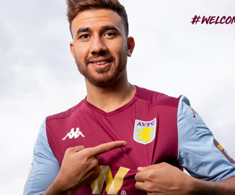 Trezeguet Aston Villa formasını giydi
