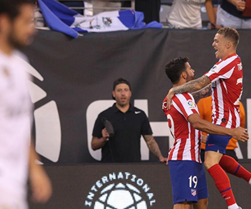 Atletico Madrid'den Real Madrid'e 7 gol