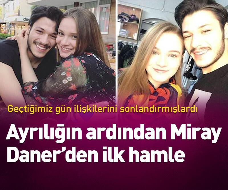 Son dakika: İhanetin ardından Miray Daner'den ilk hamle