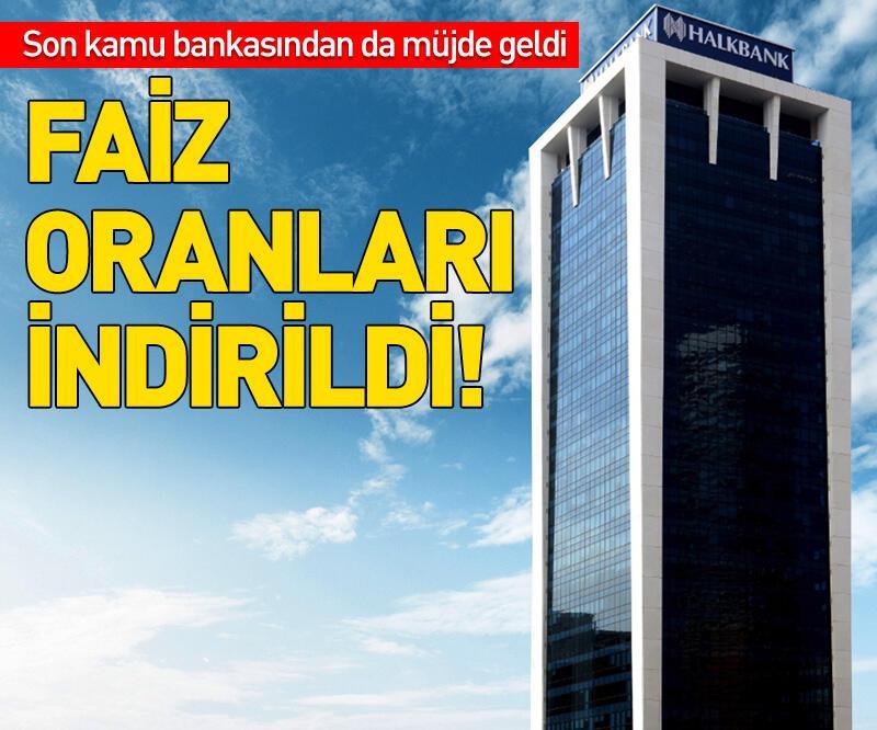 Son dakika:  Halkbank faizi yüzde 1'in altına çekti