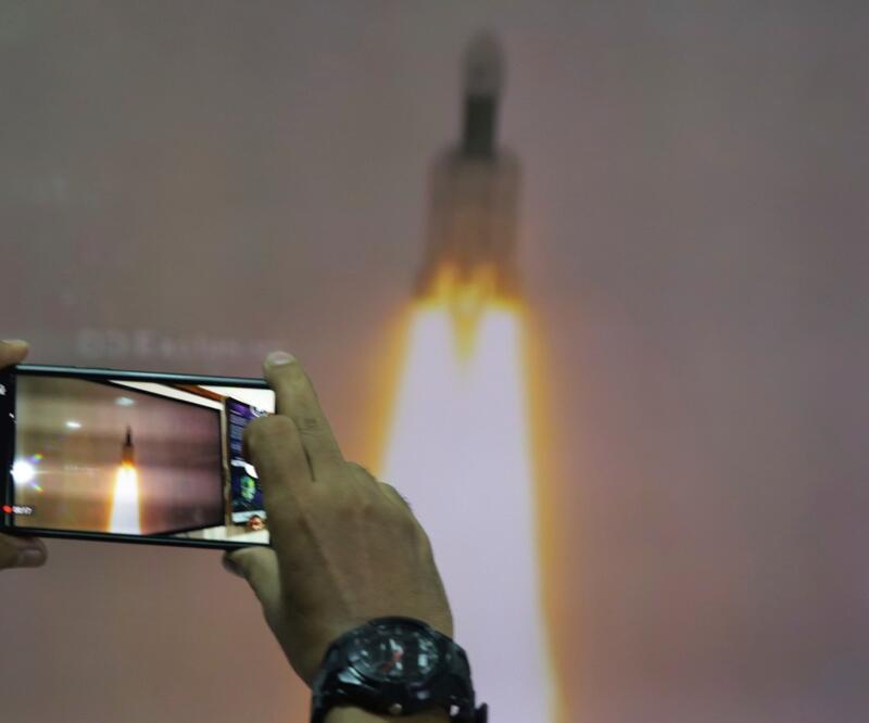 Chandrayaan-2: Hindistan'ın uzay aracı Ay'ın yörüngesine girdi