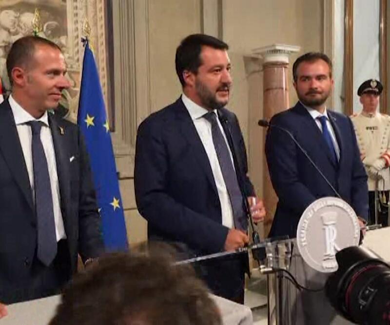 İtalya'da yeni koalisyon