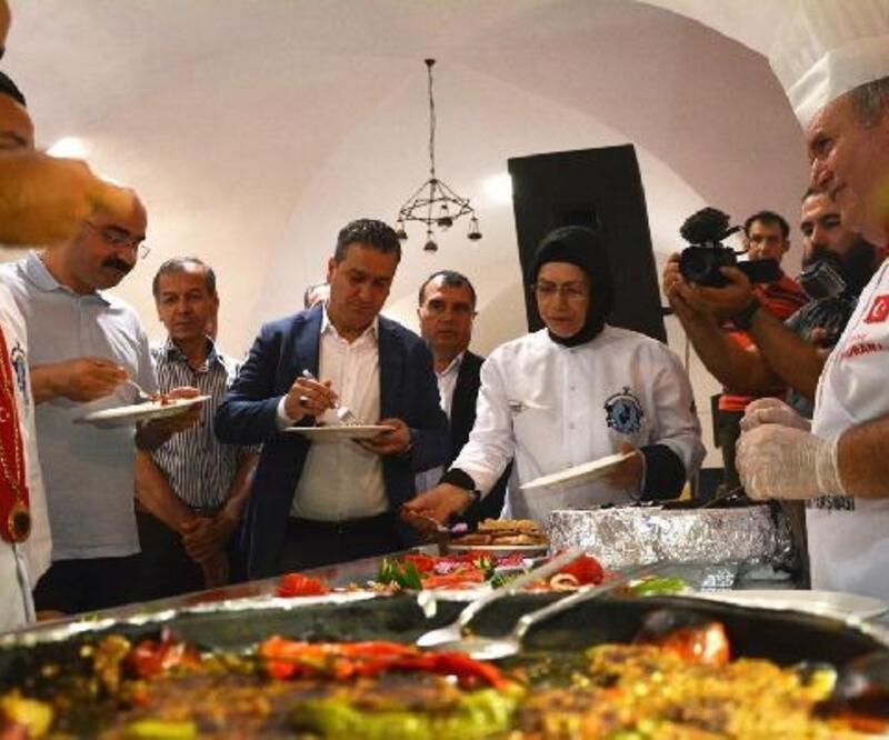 Belen'de lezzetler yarıştı