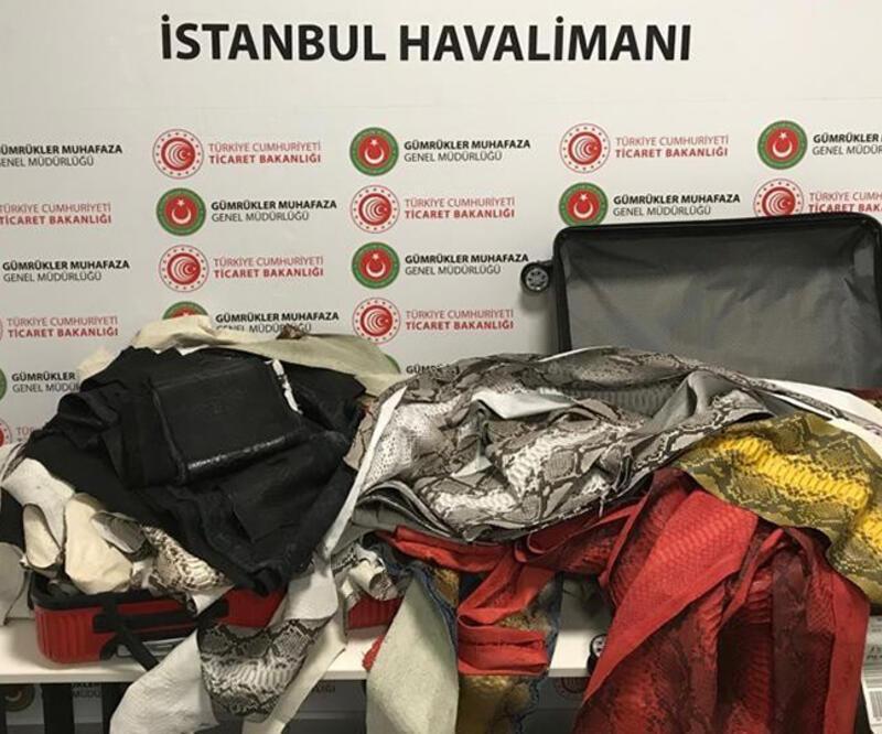 İstanbul Havalimanı'nda akılalmaz kaçakçılık