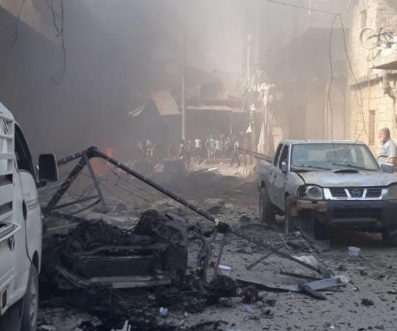 Son dakika... Afrin'de bombalı saldırı: 2 kişi öldü