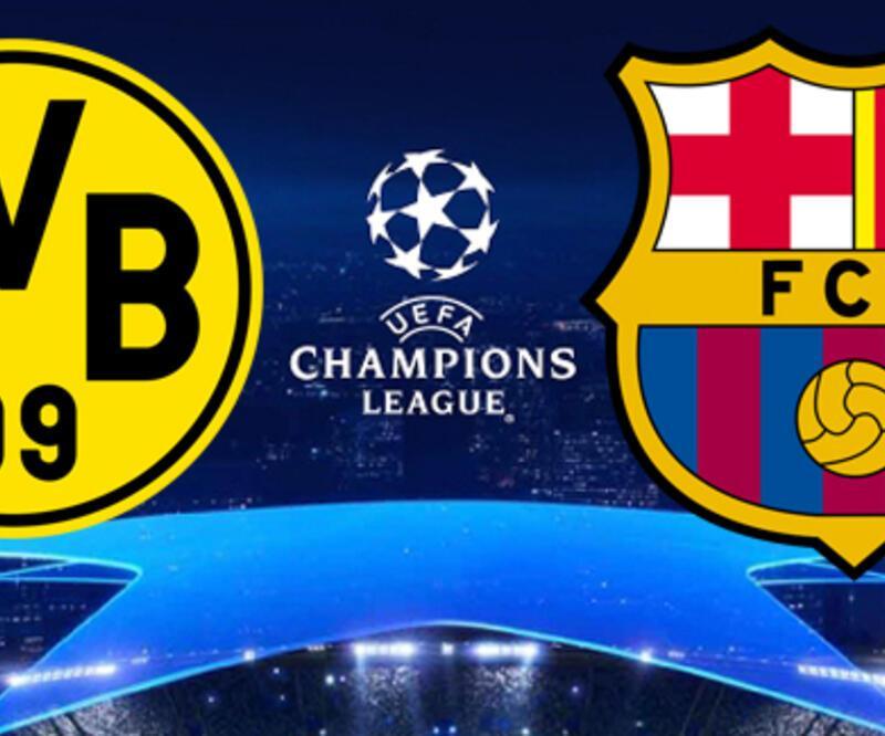 Dortmund Barcelona Şampiyonlar Ligi maçı ne zaman, saat kaçta, hangi kanalda?