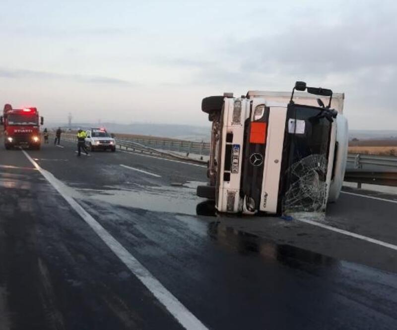 Gelibolu'da trafik kazası, 1 yaralı