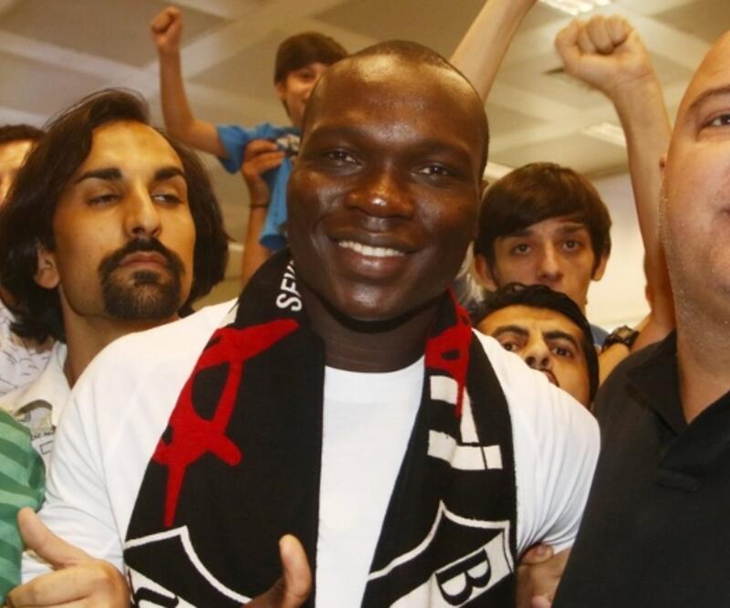 Vincent Aboubakar İstanbul'a geldi