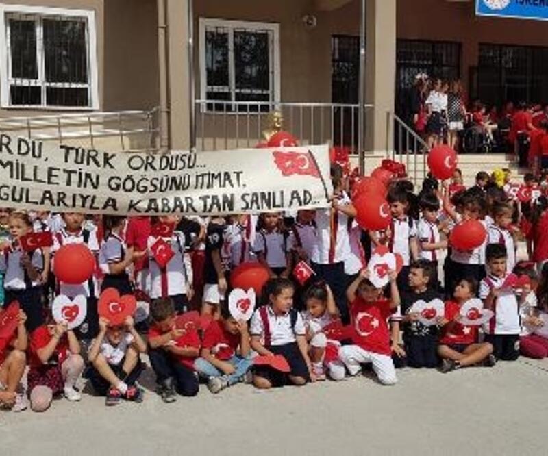 Öğrencilerden Barış Pınarı Harekatı'na katılan askerlere mektup