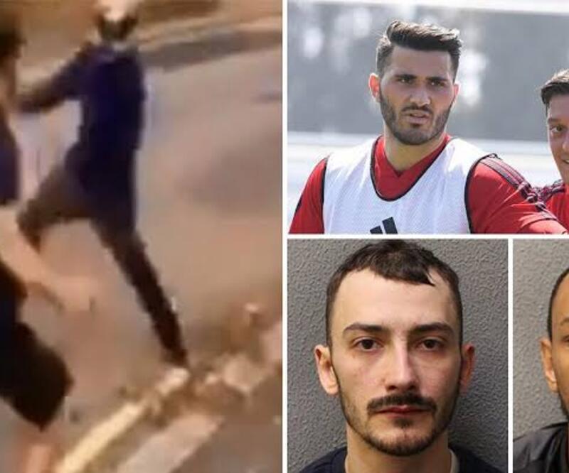 Mesut Özil ve Kolasinac'a saldıran kişinin cezası belli oldu