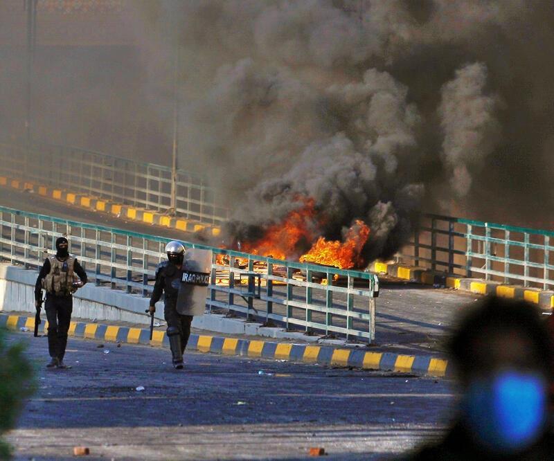 Irak'ta tansiyon düşmüyor! 18 kişi hayatını kaybetti