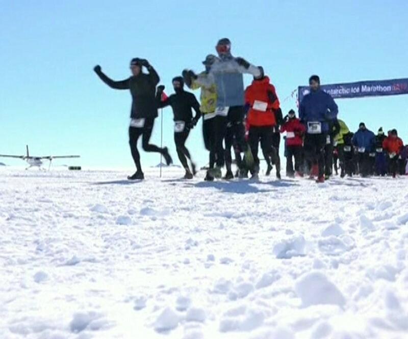 Antarktika Maratonuna damga vurdu