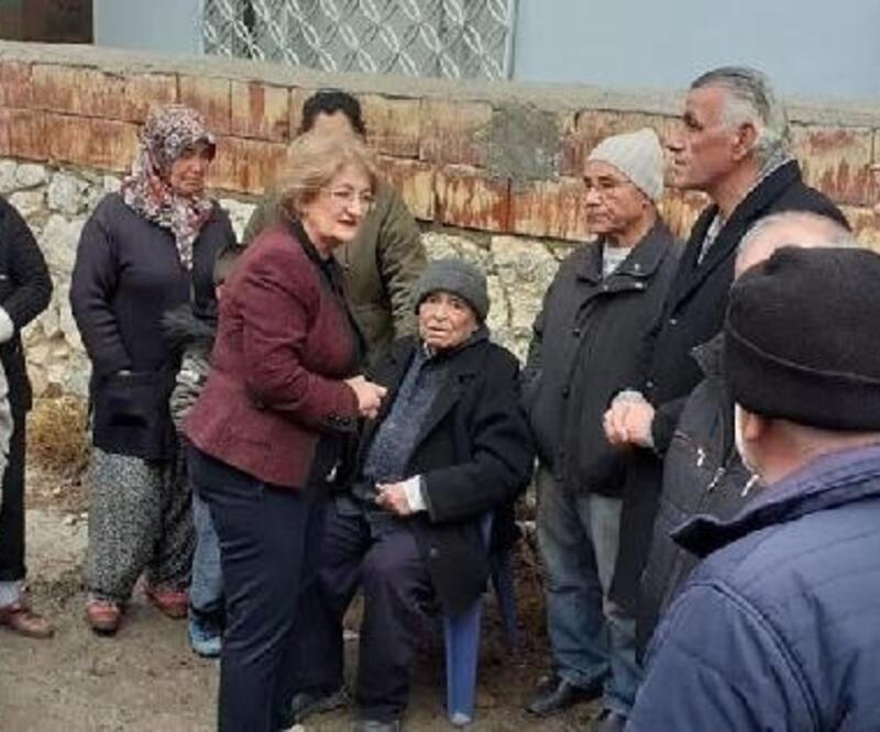 Evi yanan Demirağaç Çifti'ne Belediye'den yardım eli