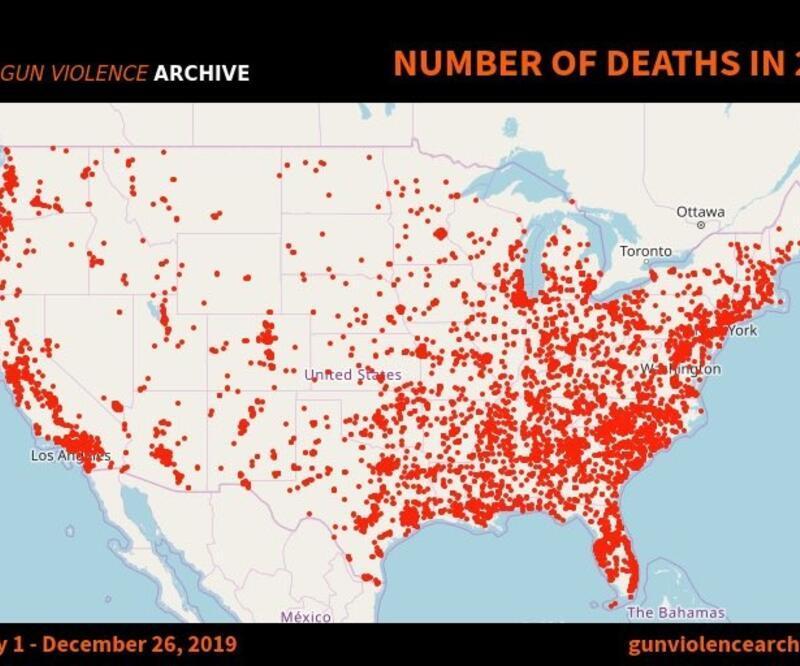 ABD'de silah kullanımı 38 bin can aldı