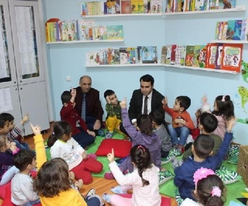 Yeşilyurt'ta çocuk kütüphanesi açıldı