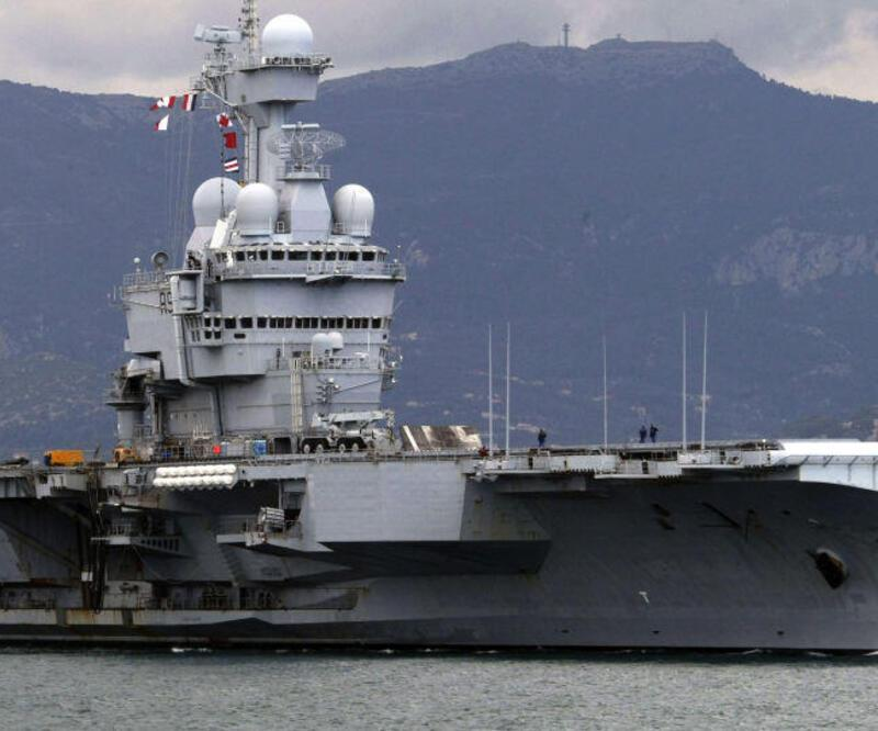 Fransa Orta Doğu'ya uçak gemisi yolluyor