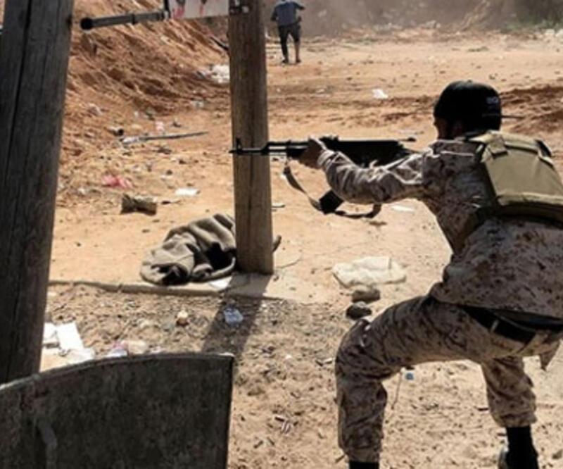 Hafter'e bağlı milisler ateşkesi ihlal etti
