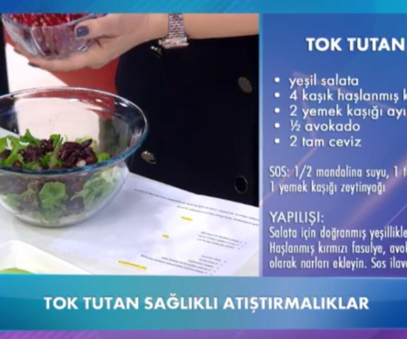 Tok tutan salata tarifi