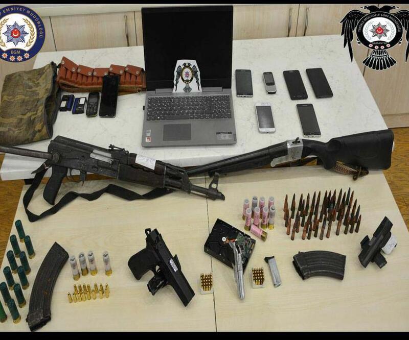 Gaziantep'te terör propagandasına: 12 gözaltı