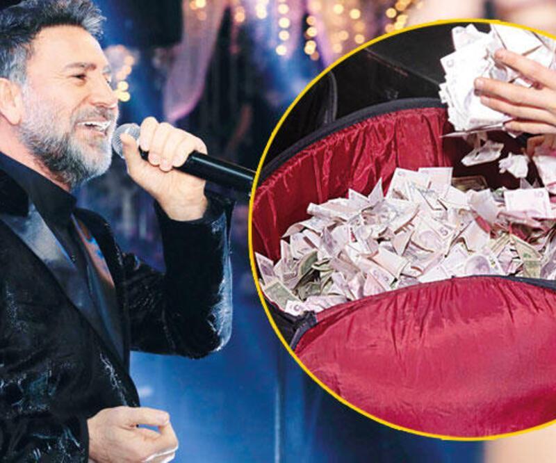 İzzet Yıldızhan'ın sahnesine para yağdı
