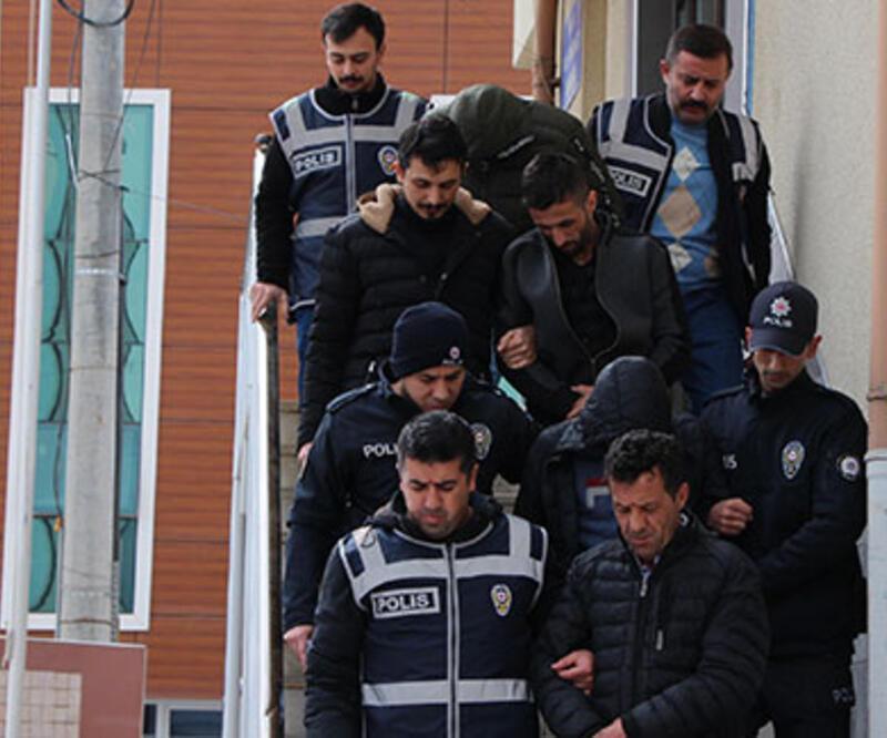Kablo hırsızlığı şüphelileri tutuklandı