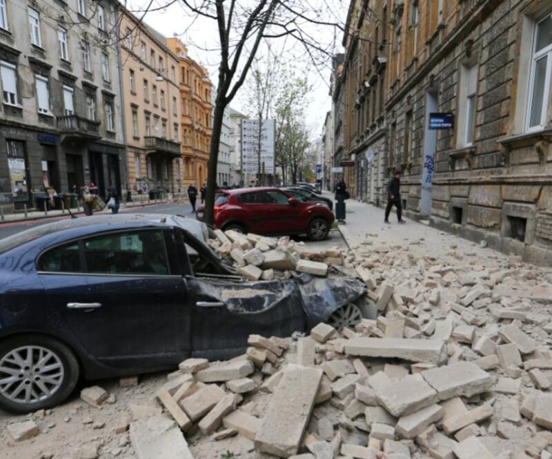 Son dakika... Hırvatistan'da 5,3 büyüklüğünde deprem