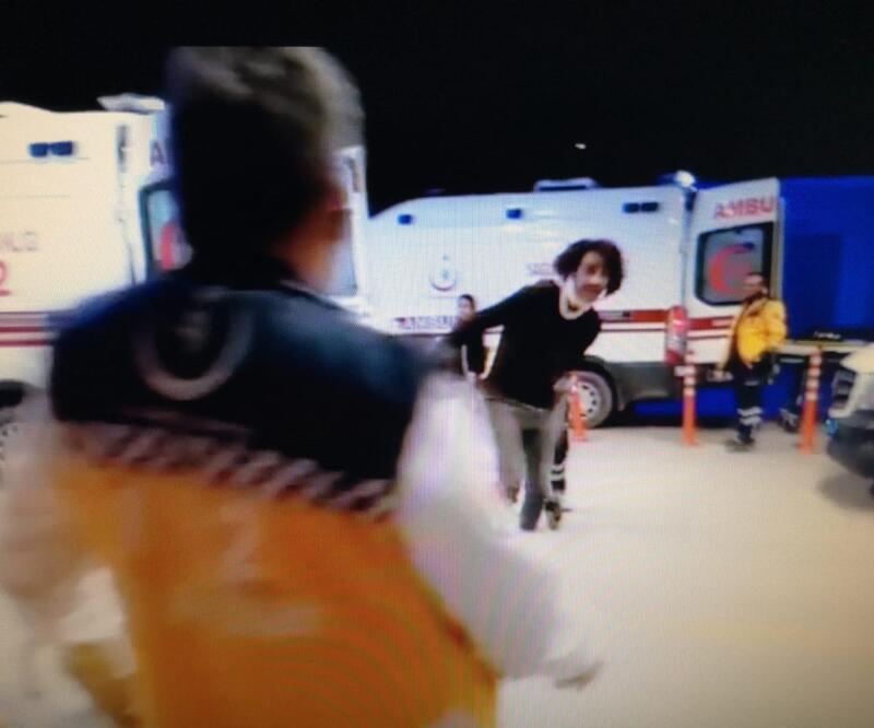Sağlık çalışanına çirkin saldırı