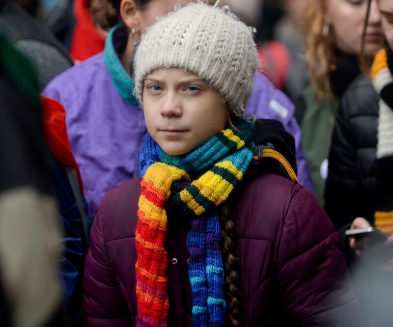 17 yaşındaki iklim aktivisti Greta Thunberg karantinada