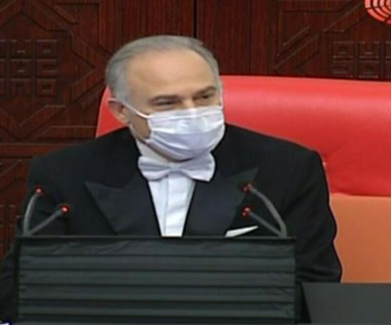 Meclis'te koronavirüs önlemleri