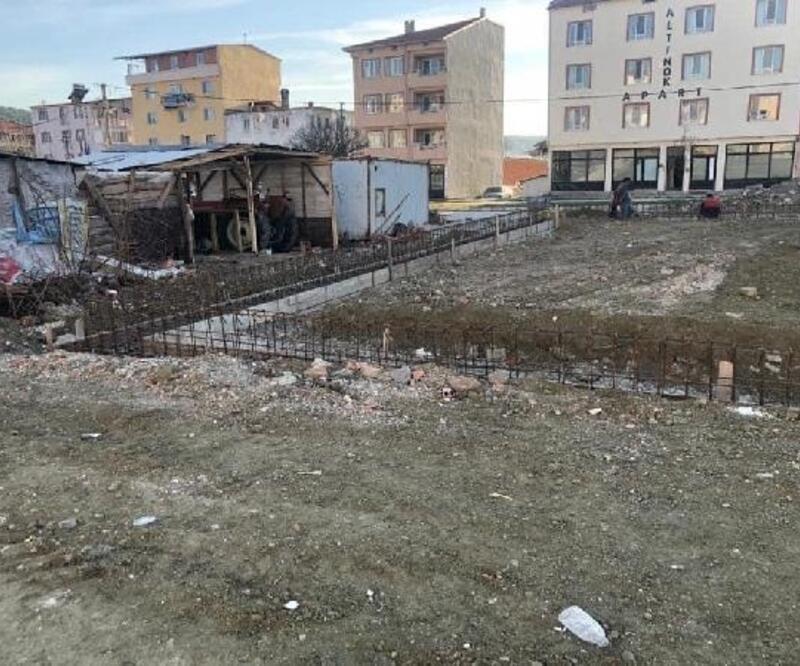 Harmancık'ta temeller atıldı