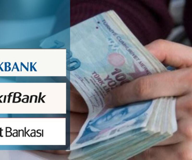 İhtiyaç kredisi faiz oranları hesaplama… Halkbank, Ziraat Bankası ve Vakıfbank ihtiyaç kredisi faiz oranları ne kadar?