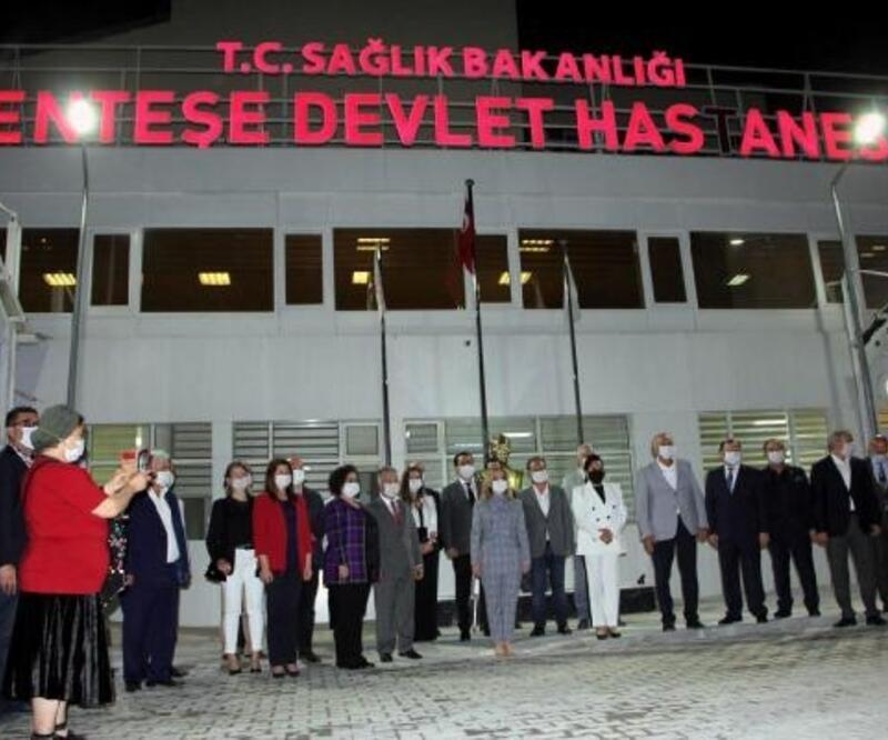 Menteşe'de devlet hastanesi acil servisi hizmete başladı