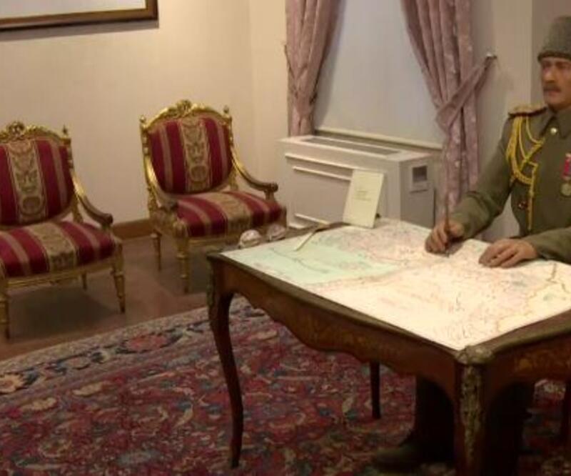 Atatürk yola bu evden çıktı
