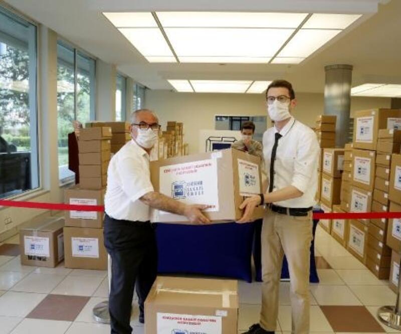 ESO, Eskişehir ve ilçelerine 300 bin maske ücretsiz maske dağıttı