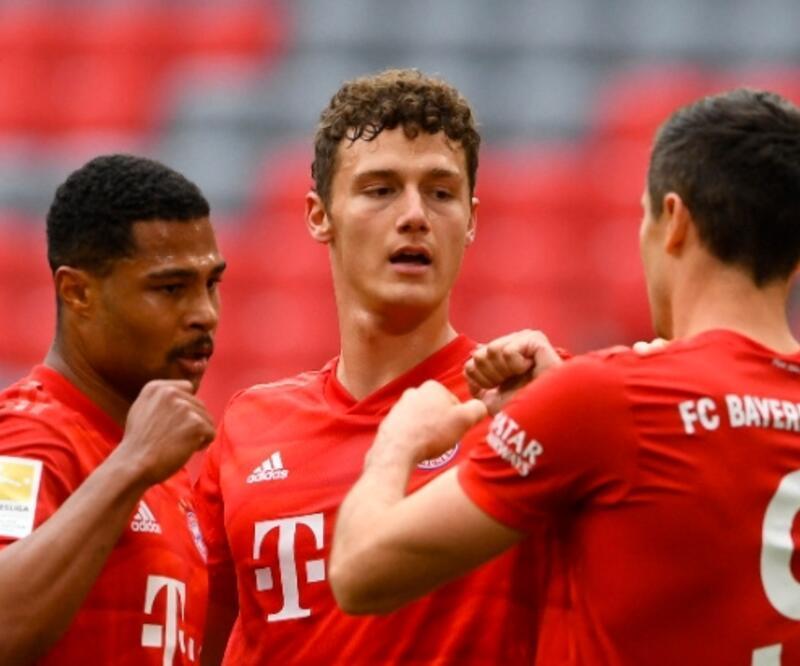Bayern Münih 5 golle kazandı