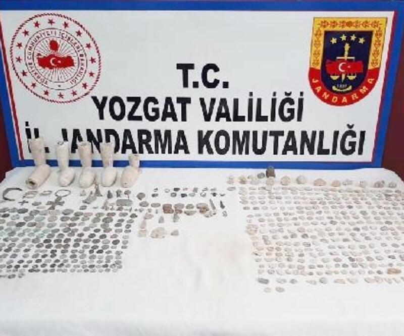 Yozgat'ta 665 parça tarihi eser ele geçirildi