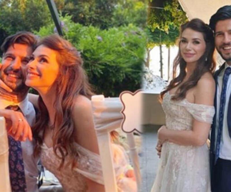 Begüm Birgören ile Mehmet Cemil nişanlandı