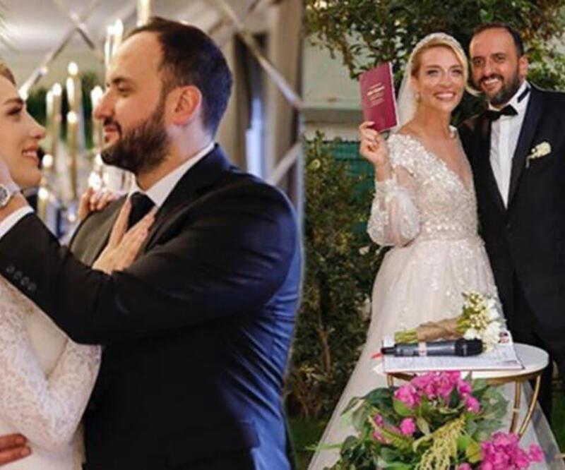 Cansu Canan Özgen evlendi