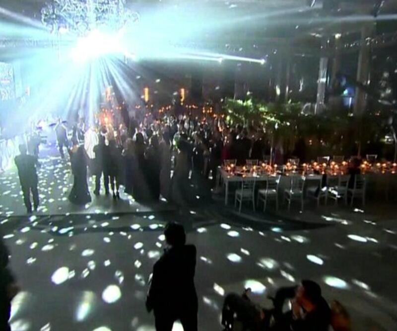 Son Dakika Haberi: Havai fişek yerine ışık şovu   Video