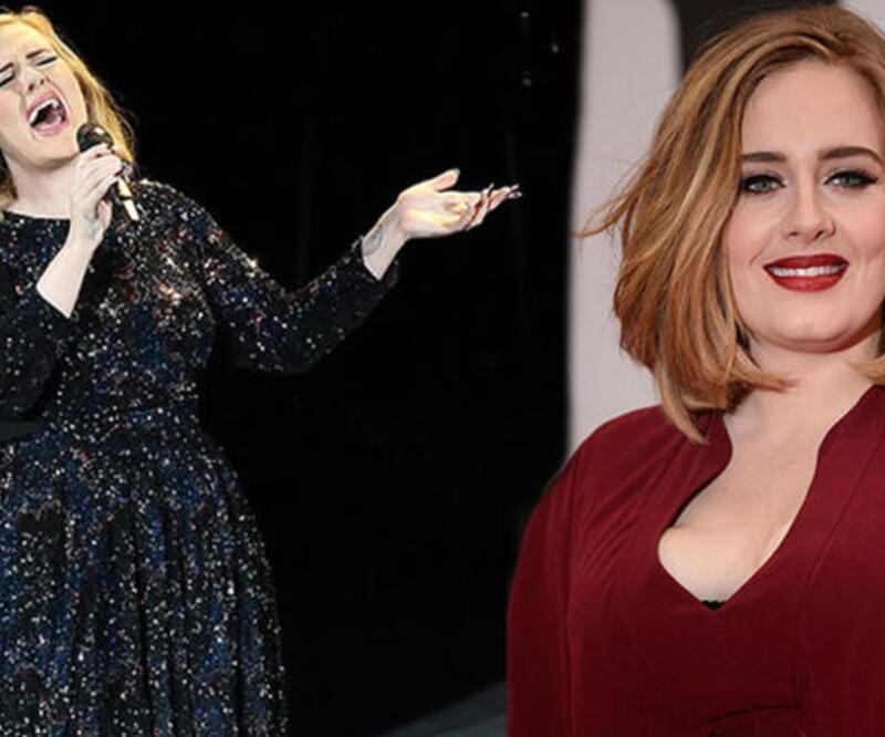 Adele tam 45 kilo verdi! İşte son hali