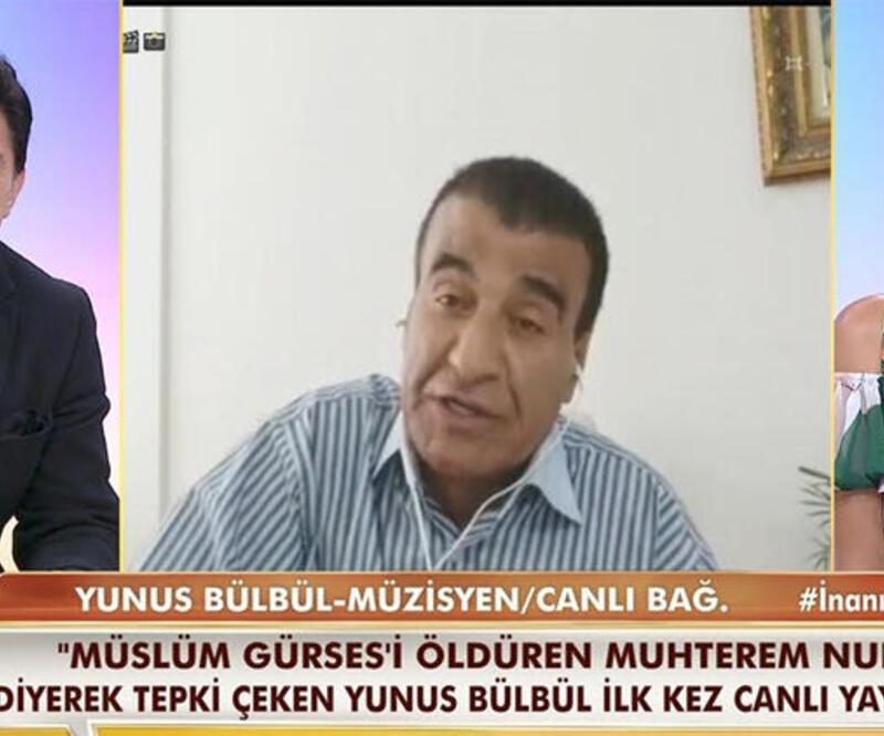 Yunus Bülbül'den Müslüm Gürses iddialarına açıklama! Özür diledi