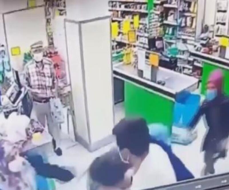 Son dakika haberleri.. Market çalışanı kadına tokat atan şüpheli adli kontrol kararıyla serbest | Video