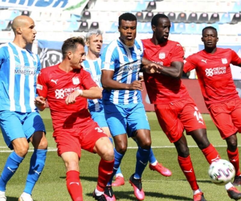 Sivasspor 4 dakikada maçı kazandı