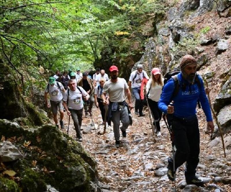 İznik'te Avrupa Hareketlilik Haftası etkinlikleri doğa yürüyüşü ile son buldu